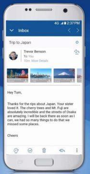 Android - nejlepší emailový klient - BlueMail