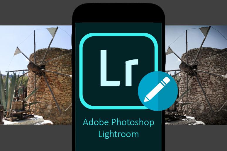 aplikace lightroom pokročilá úprava fotografií v mobilu