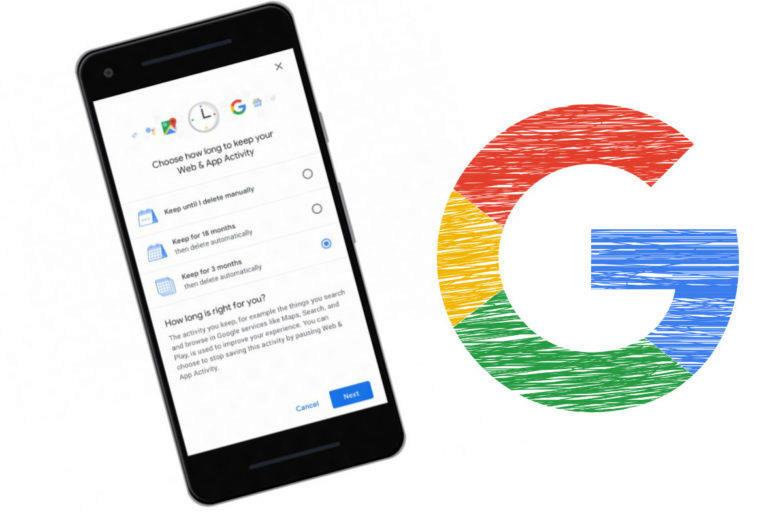 automaticke mazani google