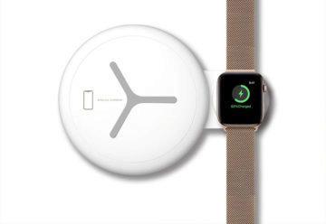 bezdrátové nabíjení telefon hodinky