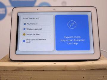 Chytry displej google home hub recenze asistent
