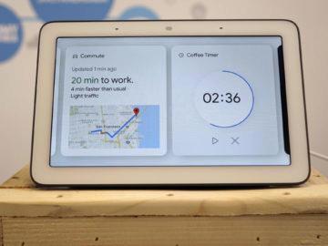 Chytry displej google home hub recenze casovac