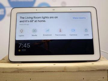 Chytry displej google home hub recenze chytra domacnost
