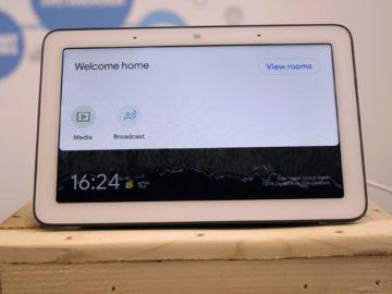 Chytry displej google home hub recenze domacnost