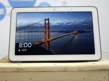 Chytry displej google home hub recenze domovska obrazovka