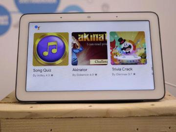 Chytry displej google home hub recenze hry