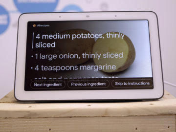 Chytry displej google home hub recenze ingredience