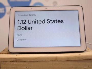 Chytry displej google home hub recenze meny