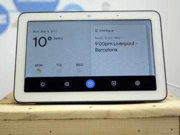 Chytry displej google home hub recenze nastaveni