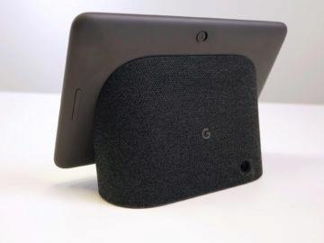 Chytry displej google home hub recenze ovladani hlasitosti