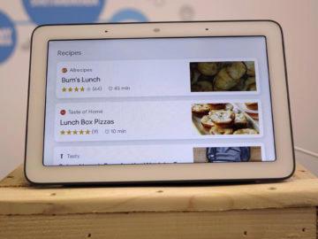 Chytry displej google home hub recenze recepty