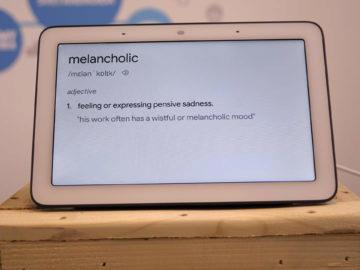 Chytry displej google home hub recenze slovnik