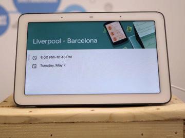 Chytry displej google home hub recenze udalost