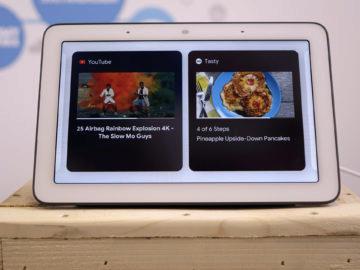 Chytry displej google home hub recenze youtube