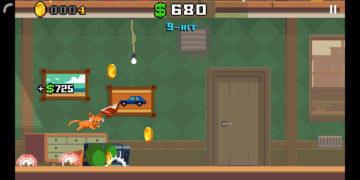 Crashy Cats - Android hra 01