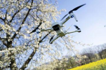 dron hubsan zino ve vzduchu