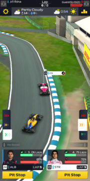 F1 Manager - Android hra 03