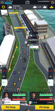 F1 Manager - Android hra 04