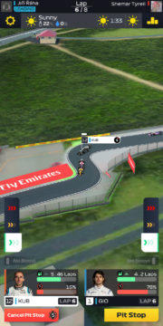 F1 Manager - Android hra 05