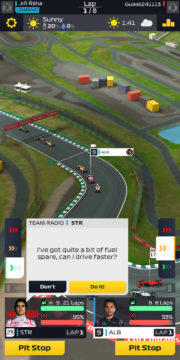 F1 Manager - Android hra 06