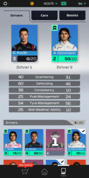 F1 Manager - Android hra 08