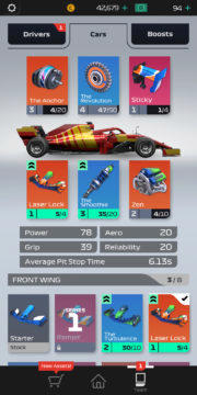 F1 Manager - Android hra 09