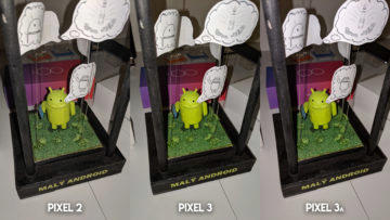 Fofotest Google Pixel 3a vs Google Pixel 3 vs Google Pixel 2 makro