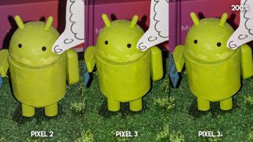 Fofotest Google Pixel 3a vs Google Pixel 3 vs Google Pixel 2 makro detail