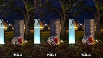 Fofotest Google Pixel 3a vs Google Pixel 3 vs Google Pixel 2 noc
