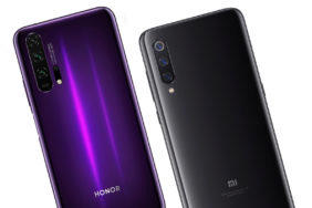fototest honor 20 vs xiaomi mi 9