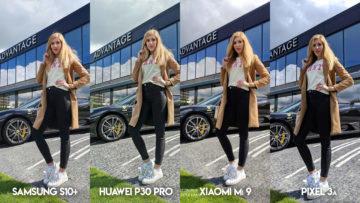 Fototestu S10 vs P30 Pro vs Mi 9 vs Pixel 3A modelka