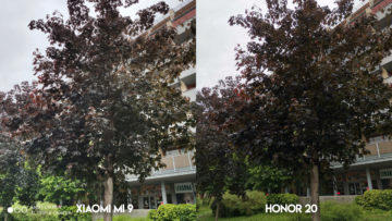 Fototest Xiaomi Mi 9 vs Honor 20 strom