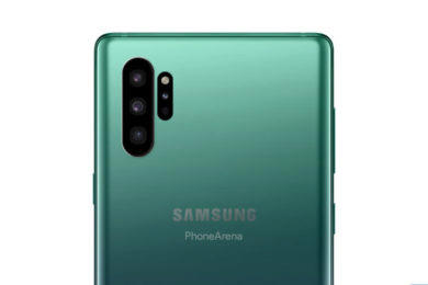 odlišný design samsung galaxy note 10