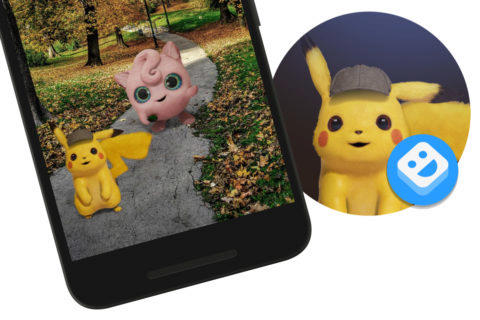 google arcore pokemon