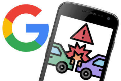 google autonehody detekce