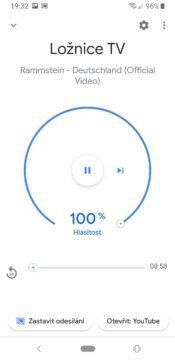 Google Chromecast 3 ovládání