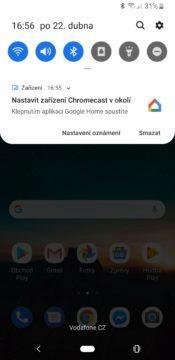 Google Chromecast 3 první nastavení