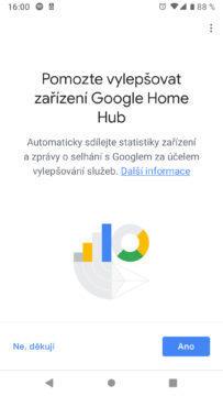Google Home aplikace vylepseni