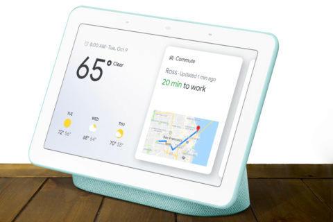 google home hub recenze