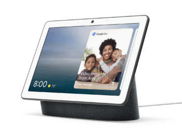 google nest hub max design