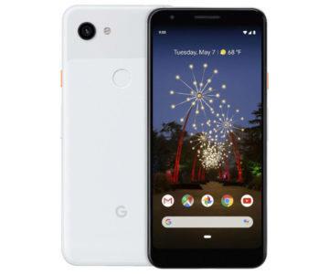 google pixel 3a predni strana