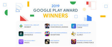 google play award 2019 vitezove