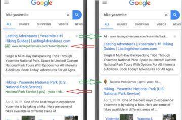 Google změnil vyhledávání na telefonu
