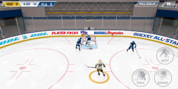 Hockey All Stars - Android hra 01