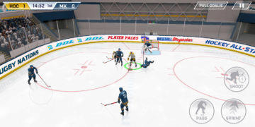 Hockey All Stars - Android hra 07
