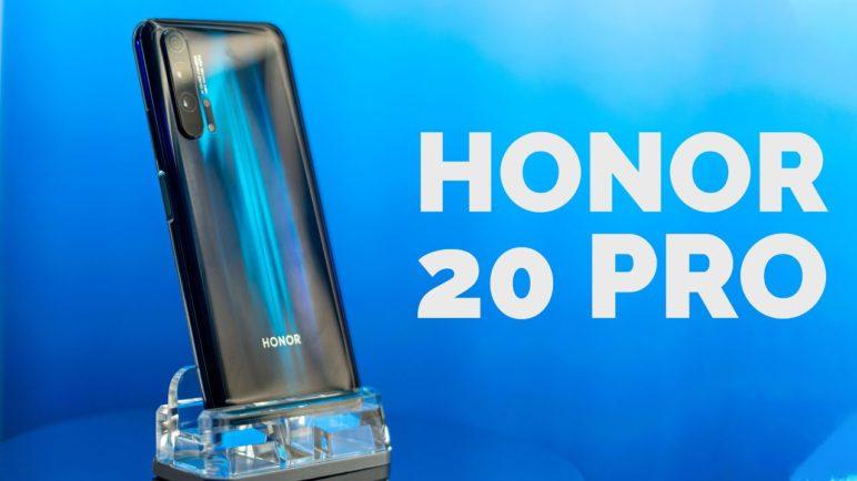 Honor 20 Pro 📱 první pohled