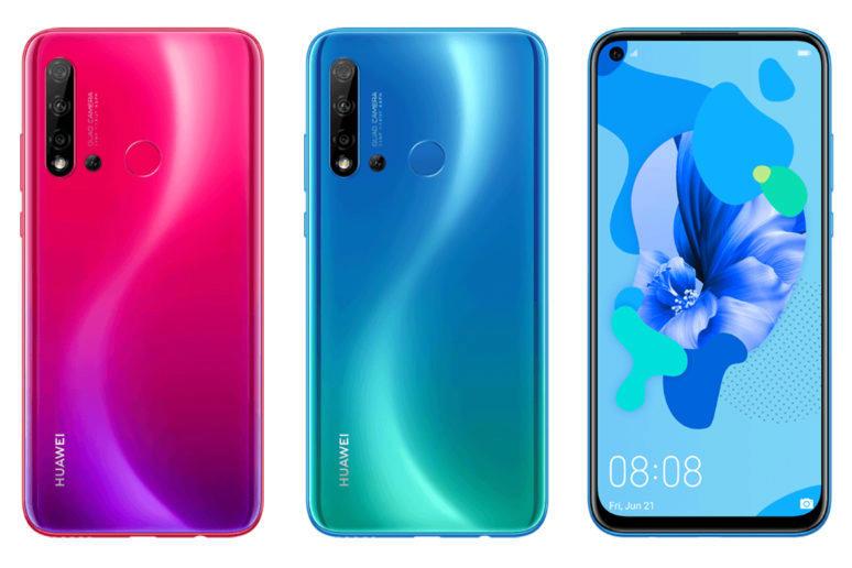 huawei p20 lite 2019 design