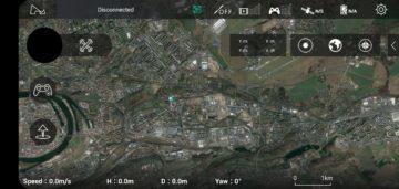 Hubsan Zino aplikace X-Hubsan google mapy