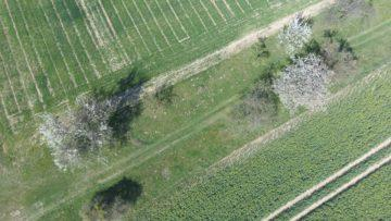 Hubsan Zino fotografie z dronu krajina