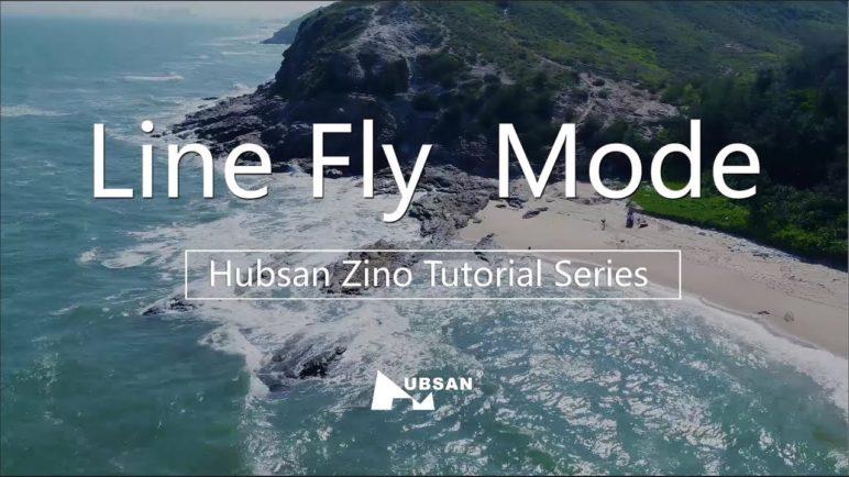 Hubsan Zino Tutorial Series Line Fly Mode